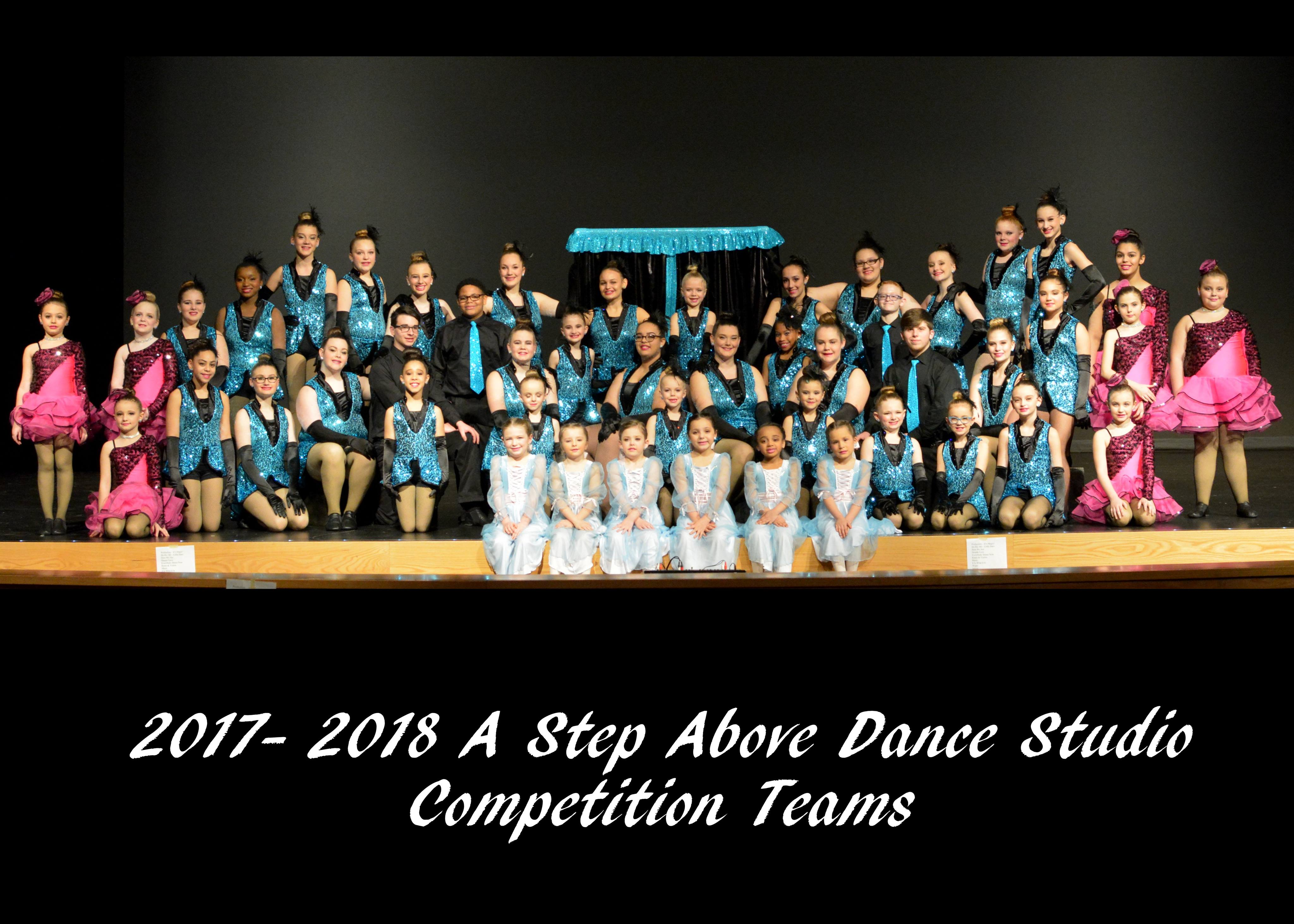 2017 Competition Dance Team Results at A Step Above Dance